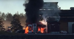 Tesla-Model-S-caught-fire-in-Norway