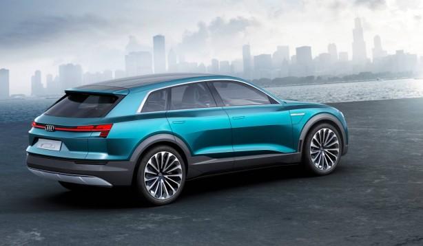 audi e-tron quattro concept rear quarter