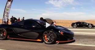 bugatti veyron vs mclaren p1 drag race
