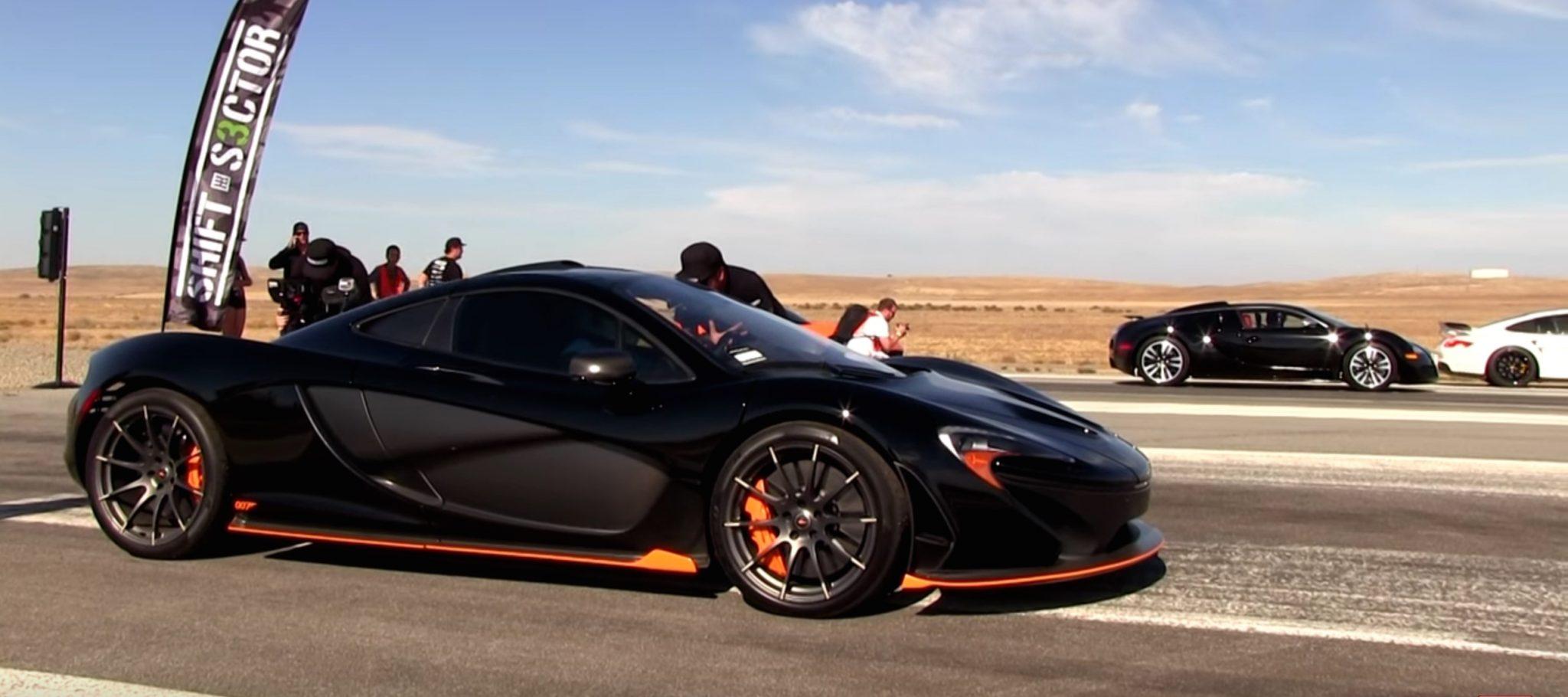 bugatti-veyron-vs-mclaren-p1-drag-race Inspiring Bugatti Veyron Vs Lamborghini Gallardo Cars Trend