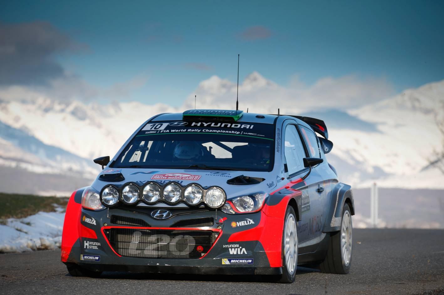 Hyundai I20 Wrc Secures First Podium Finish At 2016 Wrc