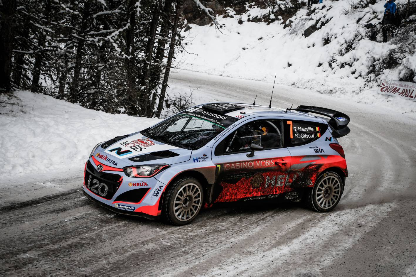 hyundai cars news i20 wrc debuts at rallye monte carlo. Black Bedroom Furniture Sets. Home Design Ideas