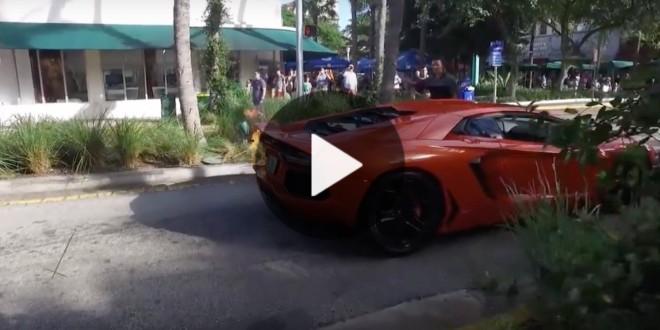Valet Sets 750k Lamborghini Aventador On Fire Taking It