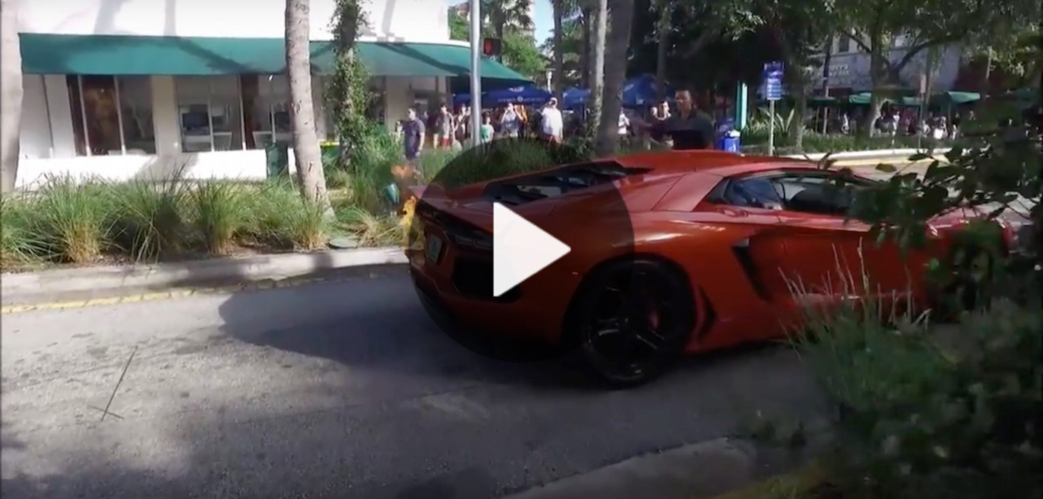 Valet Sets 750k Lamborghini Aventador On Fire Taking It