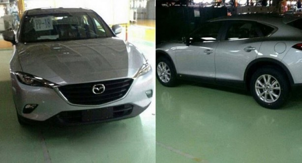 mazda cx-4, cx-6 spy photo