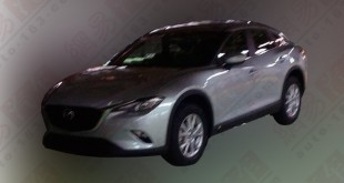 mazda cx-4, cx-6 spy photo - main
