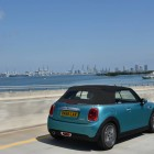 mini convertible rear quarter