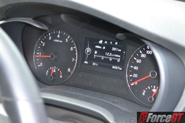 2016 kia optima gt instruments