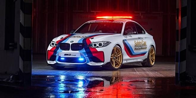 BMW M2 announced as 2016 MotoGP Safety Car