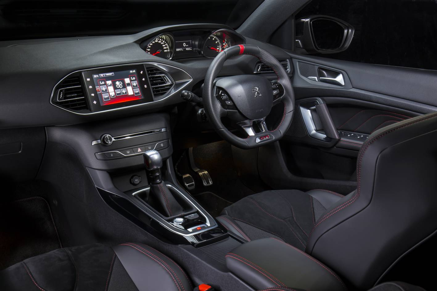 peugeot 308 gti launched from sub 45k. Black Bedroom Furniture Sets. Home Design Ideas