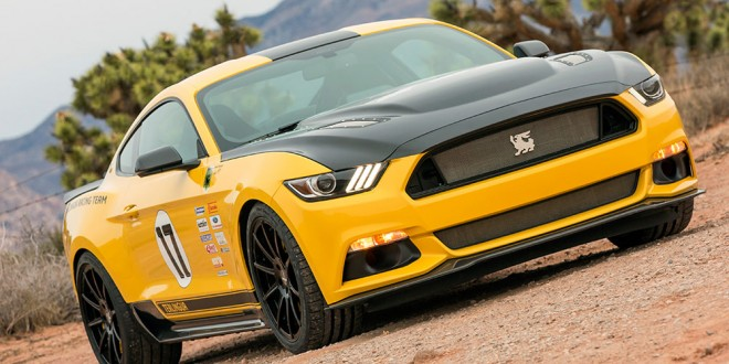 Shelby presents new Terlingua Racing Ford Mustang