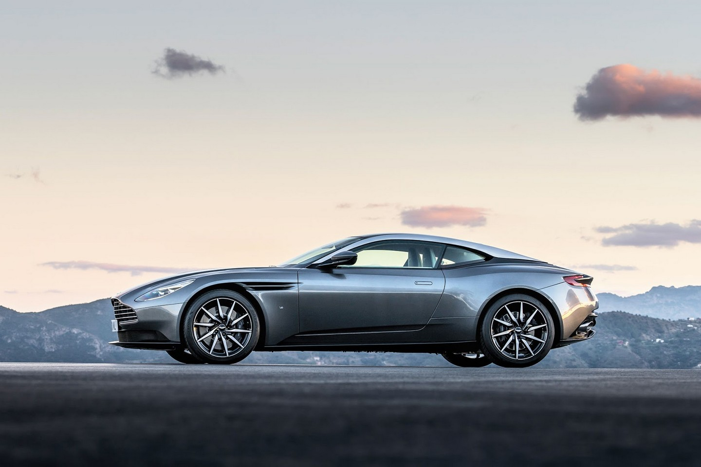 aston martin db11 breaks cover ahead of geneva debut. Black Bedroom Furniture Sets. Home Design Ideas