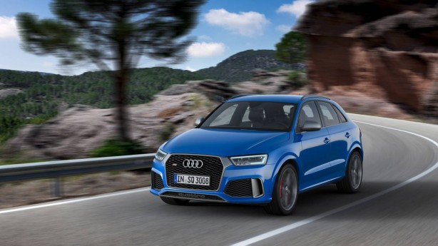 forcegt 2016 audi rs q3 performance front quarter
