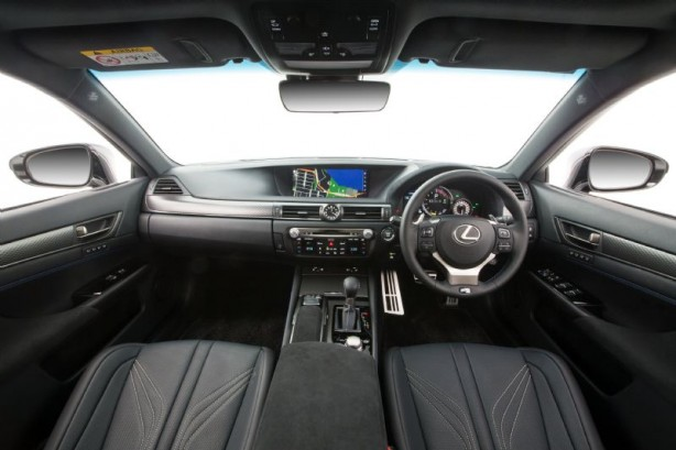 forcegt 2016 lexus gs f interior