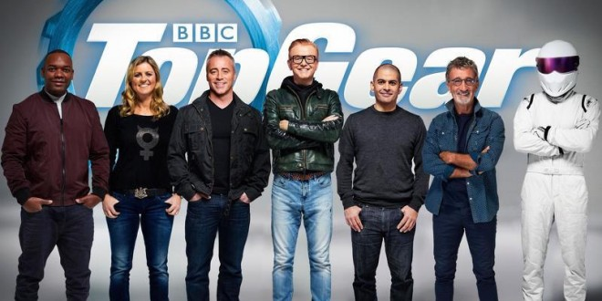 Top Gear team revealed. Chris Harris, Sabine Schmitz, Eddie Jordan, Rory Reid joins team