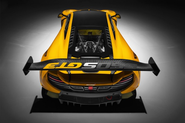 forcegt mclaren 650s gts rear
