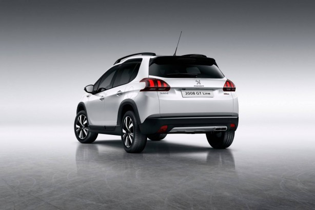 forcegt peugeot 2008 GT rear quarter