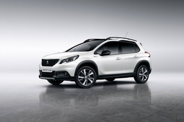 forcegt peugeot 2008 GT side