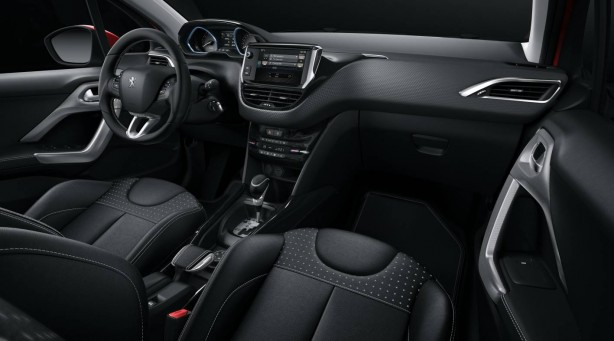 forcegt peugeot 2008 interior