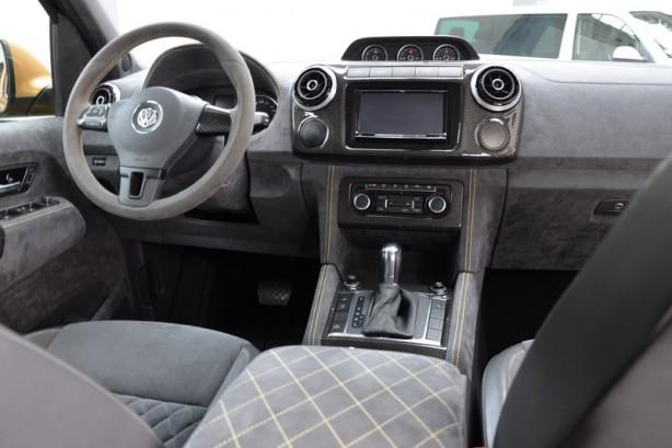mtm volkswagen amarok v8 desert edition interior