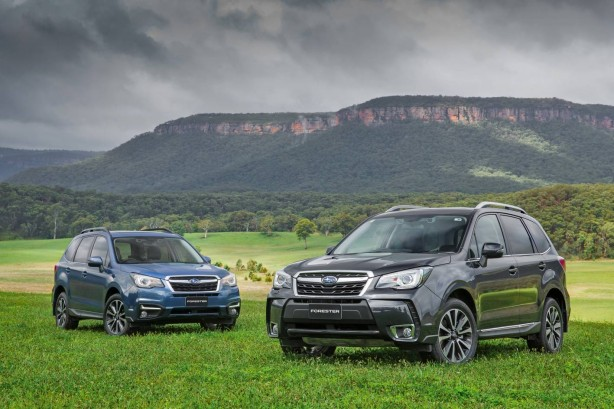 subaru cars news-2016-subaru-forrester-both