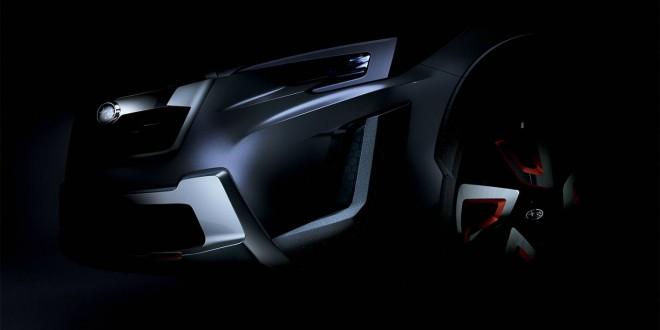 Subaru XV concept teased ahead of Geneva debut