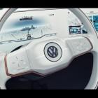 volkswagen budd-e concept interior