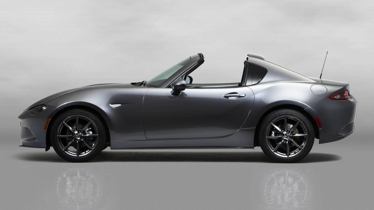 Mazda has unveiled the MX-5 RF , a retractable hard top version of the ...