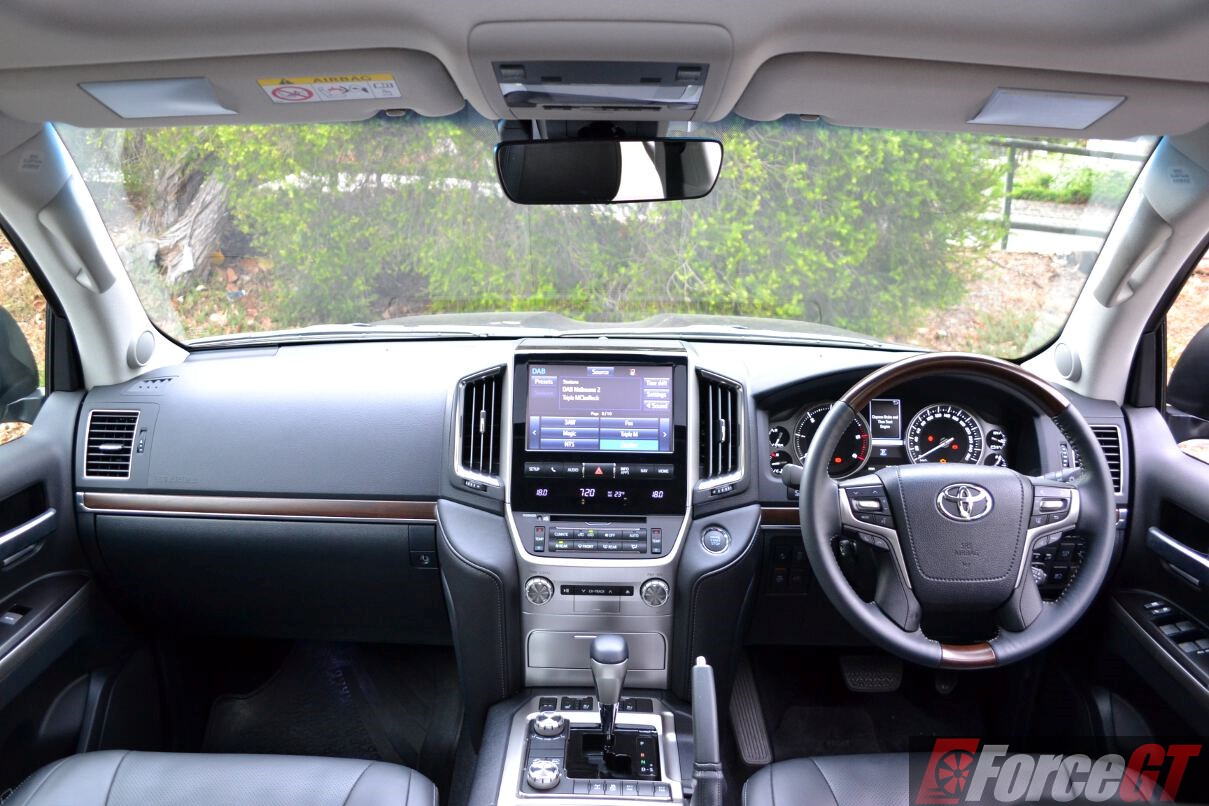 2016 Toyota Landcruiser Sahara Dashboard Forcegt Com