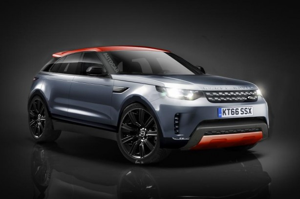 Range Rover Coupe render