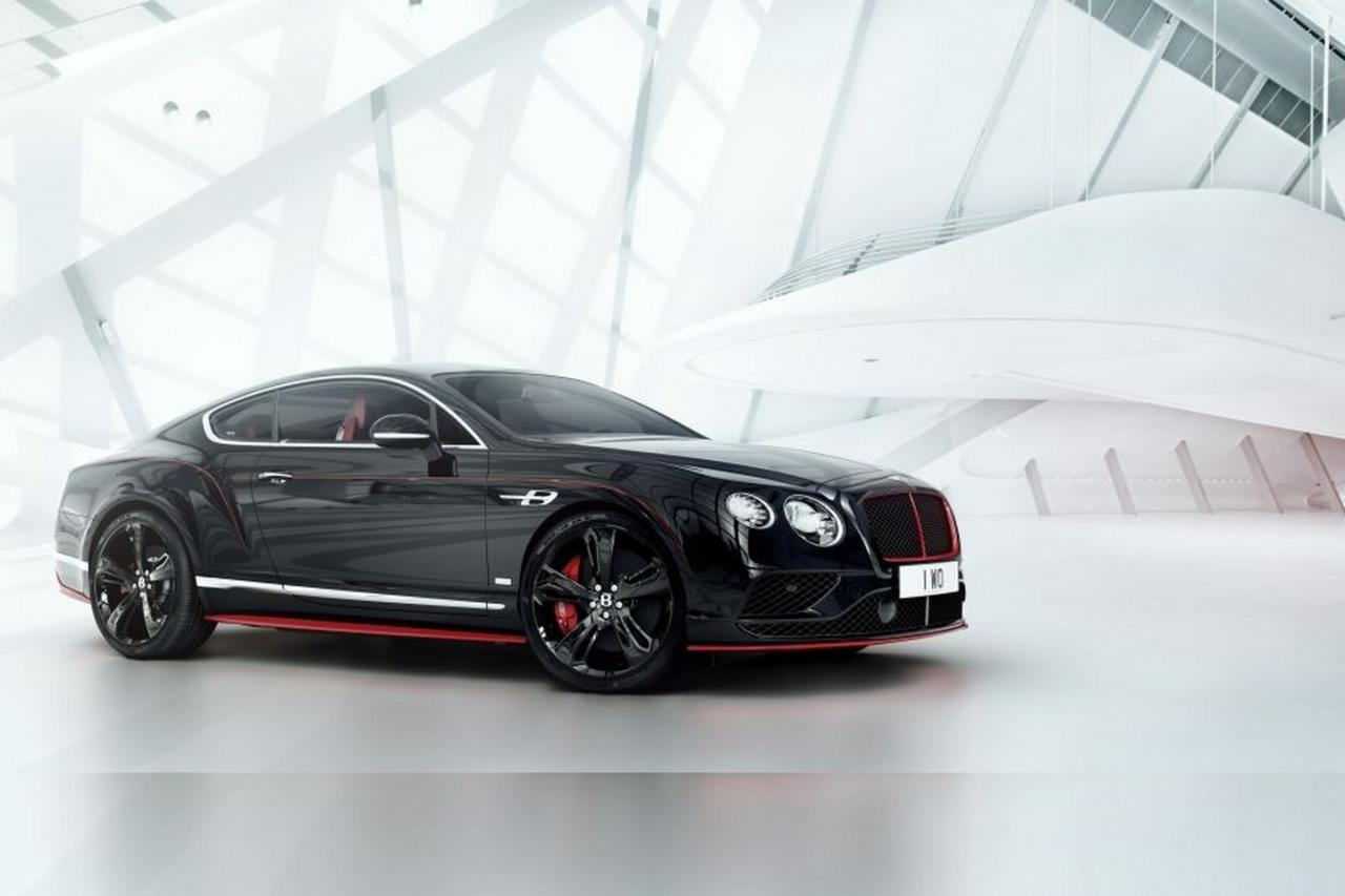 Limited Edition Bentley Continental Gt Black Speed