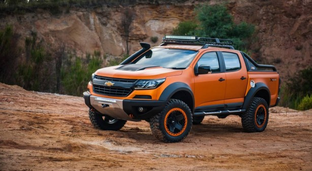 chevrolet colorado xtreme front quarter