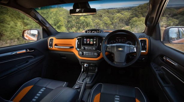 chevrolet colorado xtreme interior