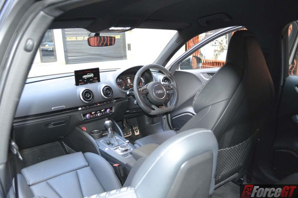 forcegt 2016 audi rs3 sportback interior