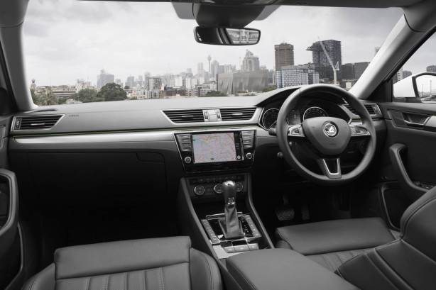 forcegt 2016 skoda superb 206tsi interior