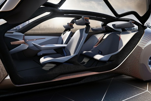 forcegt bmw vision next 100 concept interior
