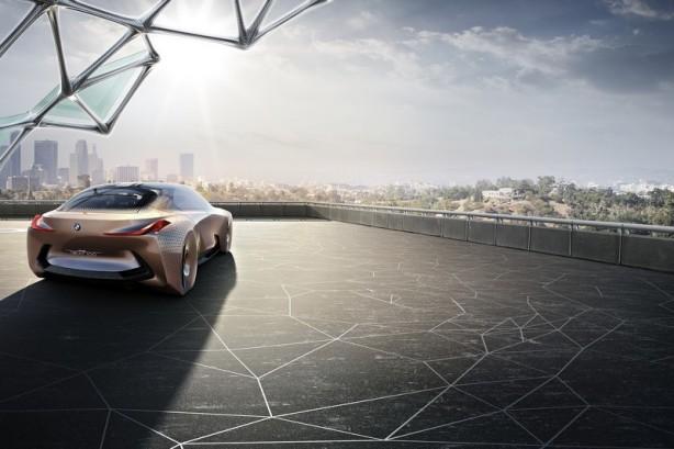 forcegt bmw vision next 100 concept rear quarter