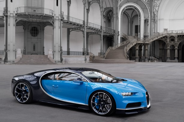 forcegt bugatti chiron front quarter