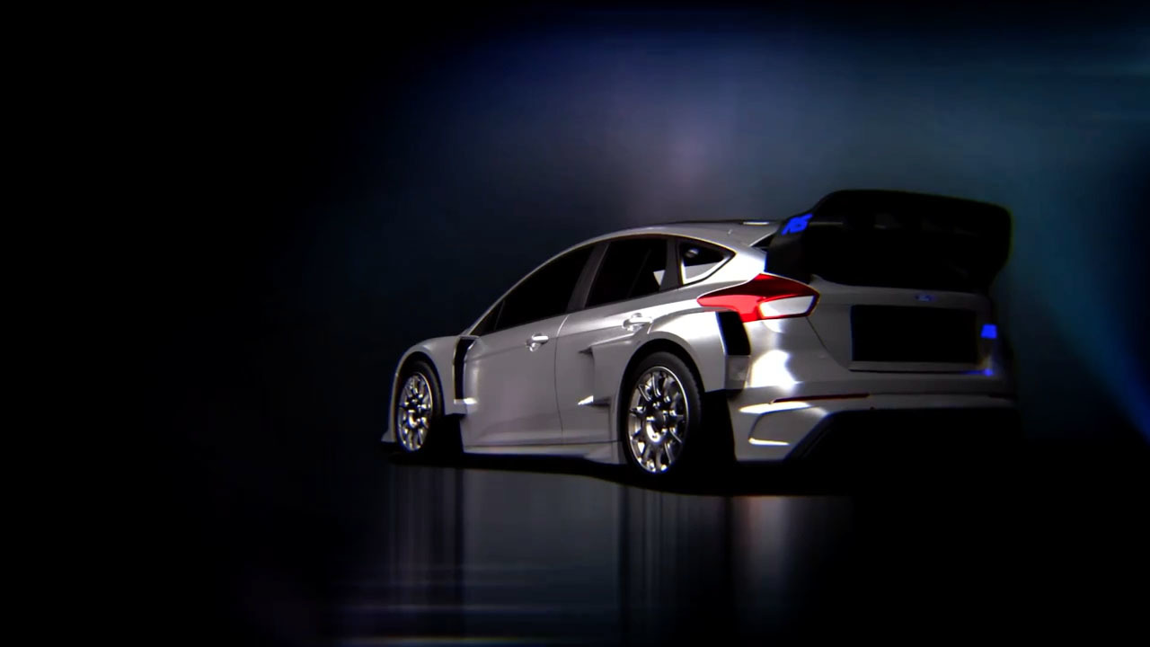 Ford Focus Wrc Body Kit >> Gymkhana 8 teases widebody Ford Focus RS RX [video] - ForceGT.com
