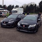 honda civic type r and type r tourer front