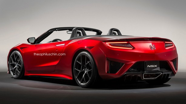 honda-nsx-convertible-rendering-rear