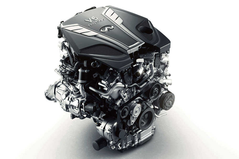 the VR30 is their most powerful, cleanest and fuel efficient V6 engine