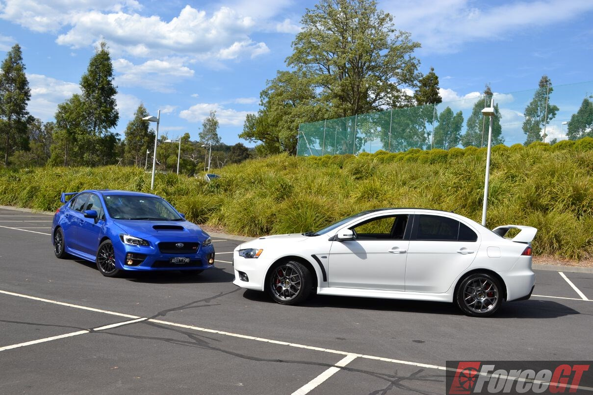 Brz Vs Wrx >> Head to Head: Subaru WRX STI vs Mitsubishi Lancer Evo X Final Edition