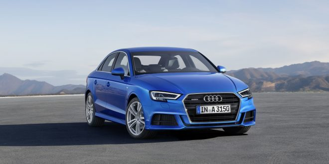 Audi unveils facelifted A3 and S3 range