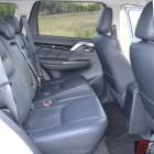 2016 mitsubishi pajero sport gls rear seats
