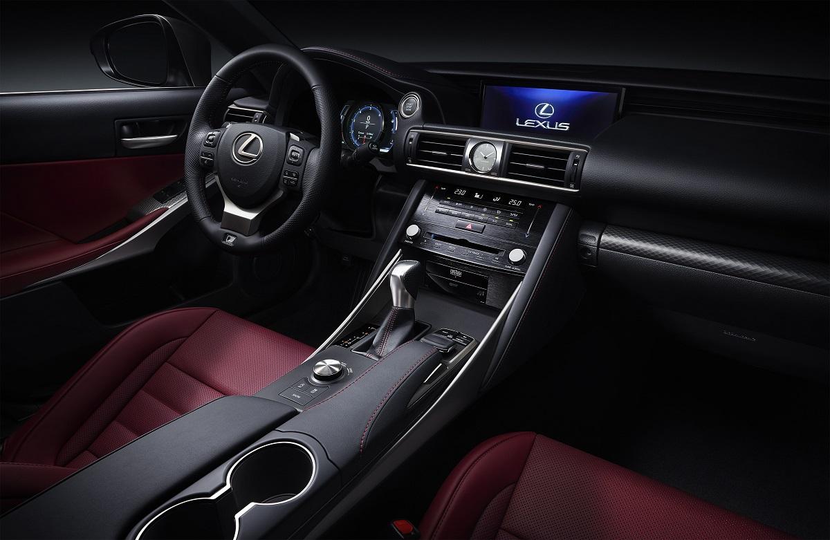 2017 Lexus Is F Sport Facelift Interior