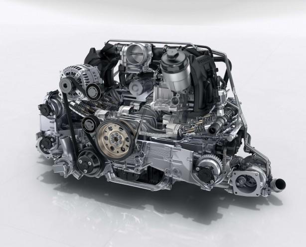 2017 porsche 911 gts engine