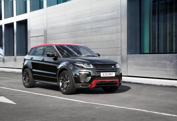 2017 range rover evoque ember edition front quarter