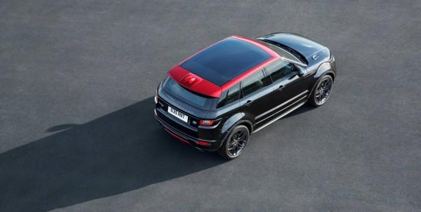 2017 range rover evoque ember edition top