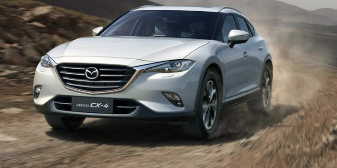 China-only Mazda CX-4 breaks cover